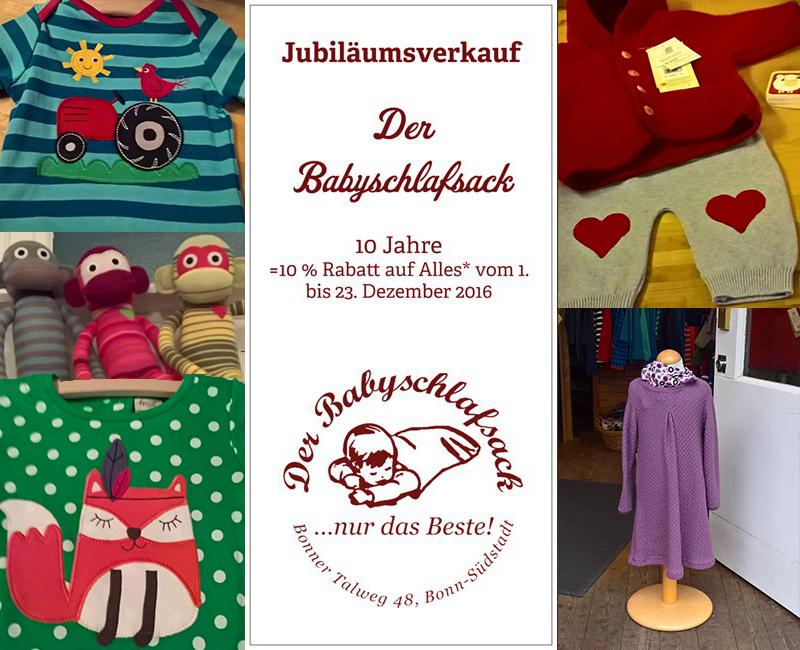 10 Jahre Babyschlafsack Bonn